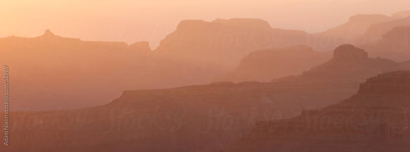 Grand Canyon Sunset by Adam Nixon for Stocksy United