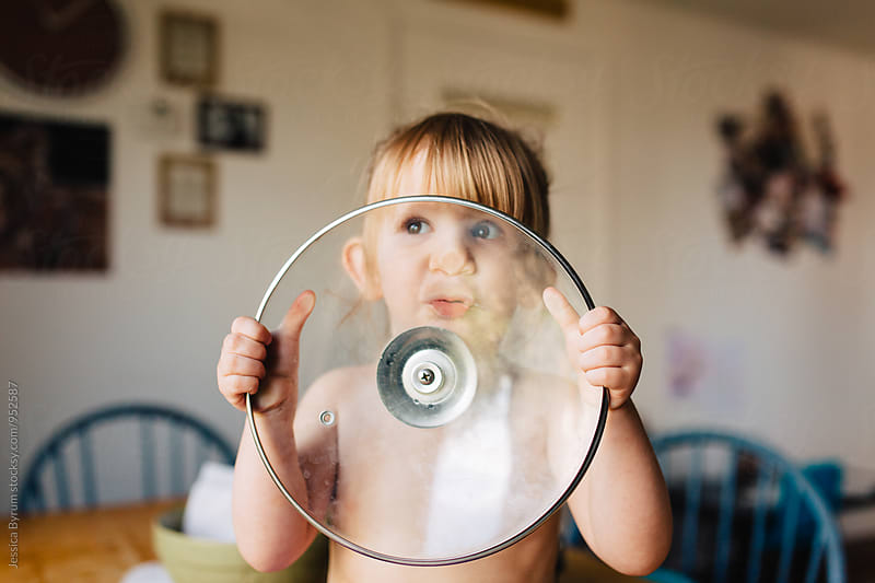 Funny toddler child by Jessica Byrum for Stocksy United