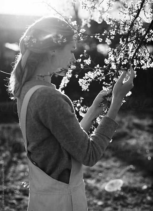Spring mood in black and white by Liubov Burakova for Stocksy United
