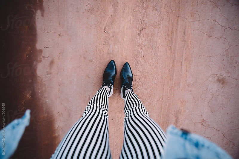 Black and White Stripes by Bethany Olson for Stocksy United