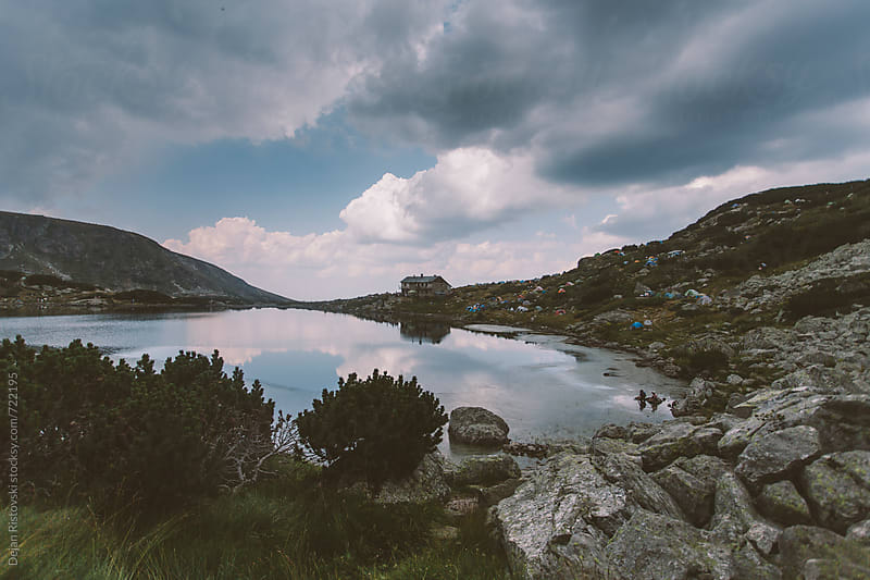 Lake on Rila mountain by Dejan Ristovski for Stocksy United
