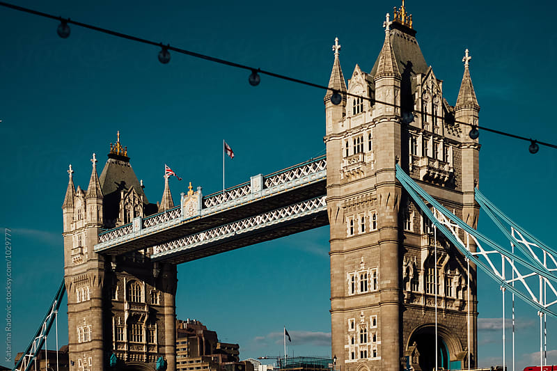 Tower Bridge in London by Katarina Radovic for Stocksy United