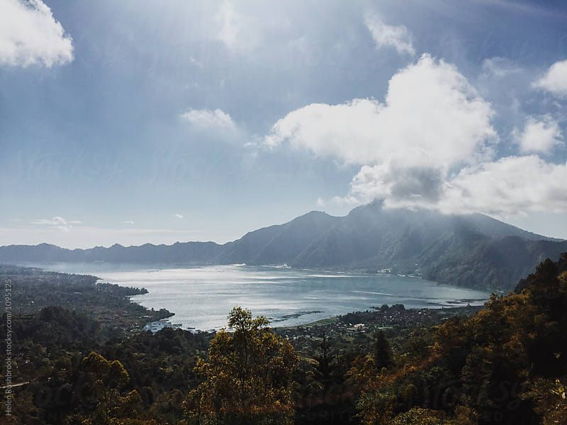 Lake Batur in Bali by Helen Rushbrook for Stocksy United