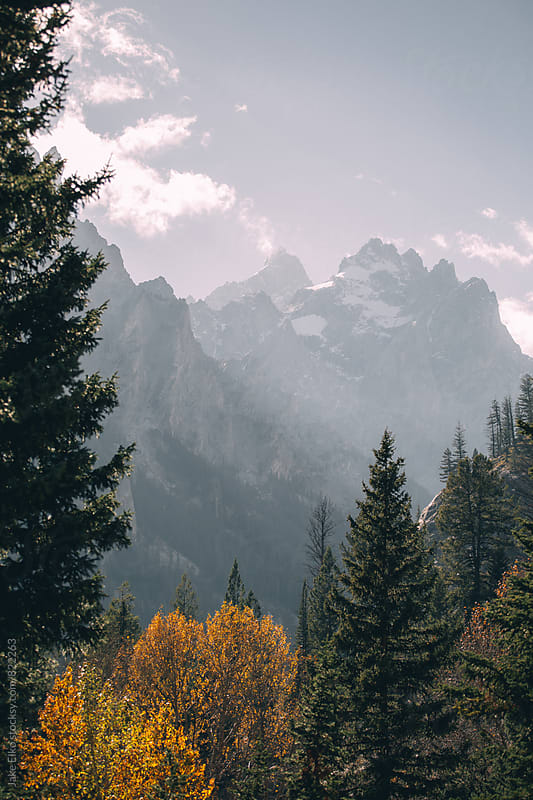 A Day of Hiking In the Tetons by Jake Elko for Stocksy United