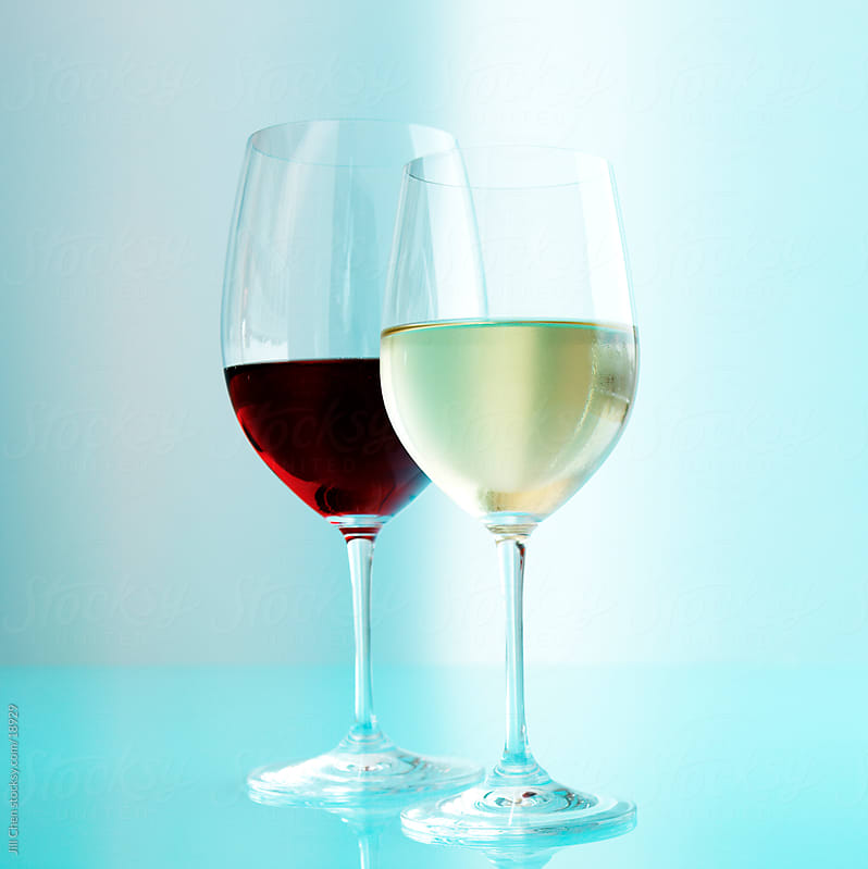 Red and White Wine by Jill Chen for Stocksy United