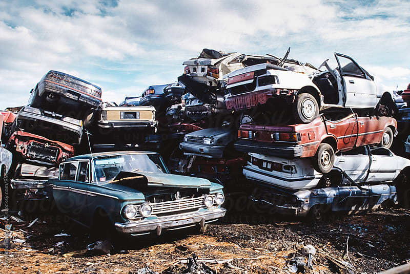 Junk Yard by Raymond Forbes LLC for Stocksy United