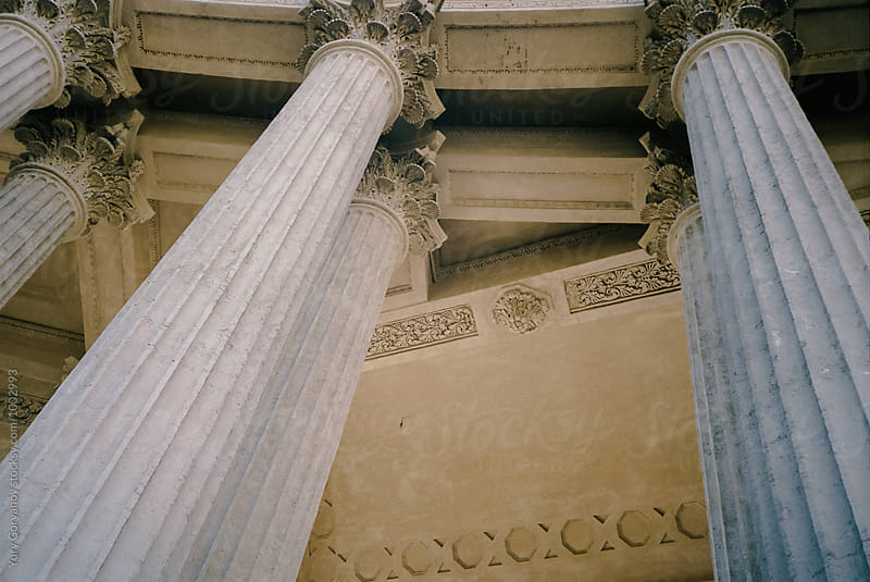 Columns of Kazan Cathedral by Yury Goryanoy for Stocksy United