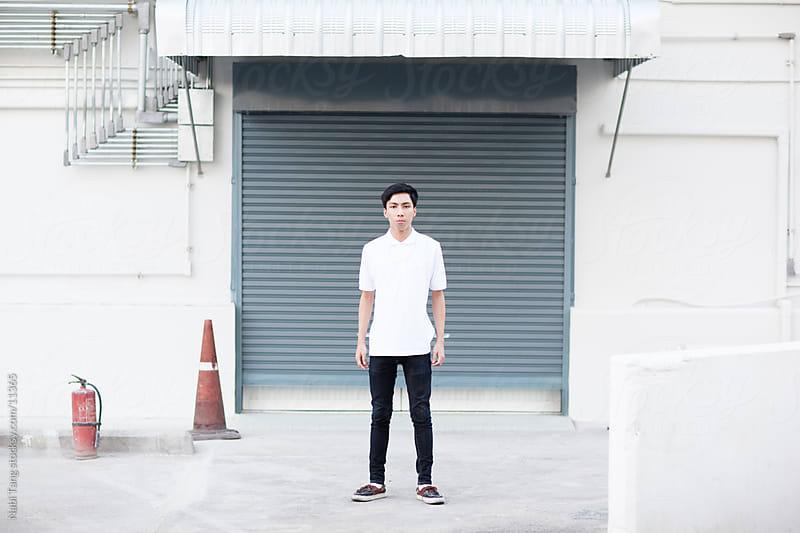 Urban Teenage Boy by Nabi Tang for Stocksy United