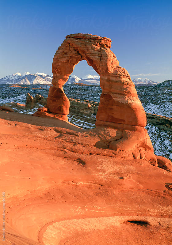 Delicate Arch, Arches National Park, Moab, Utah, United States of America, North America by Gavin Hellier for Stocksy United