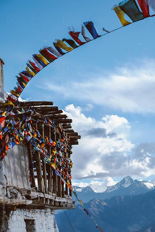 Namgyal Tsemo Monastery by David Navais for Stocksy United
