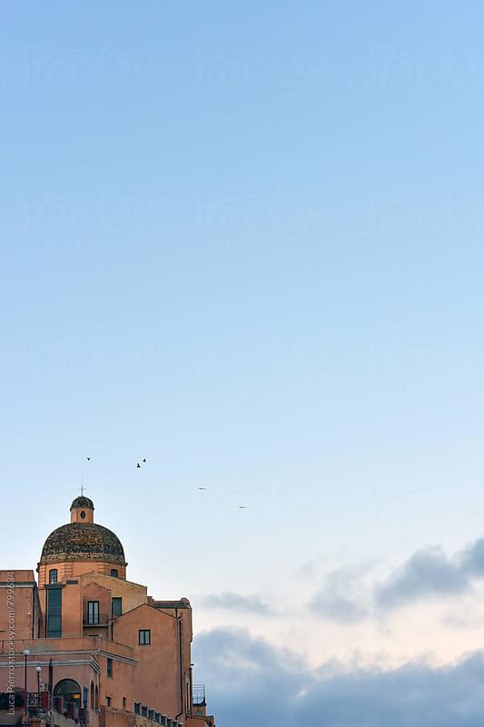 Cathedral Duomo of Cagliari, Sardinia by Luca Pierro for Stocksy United