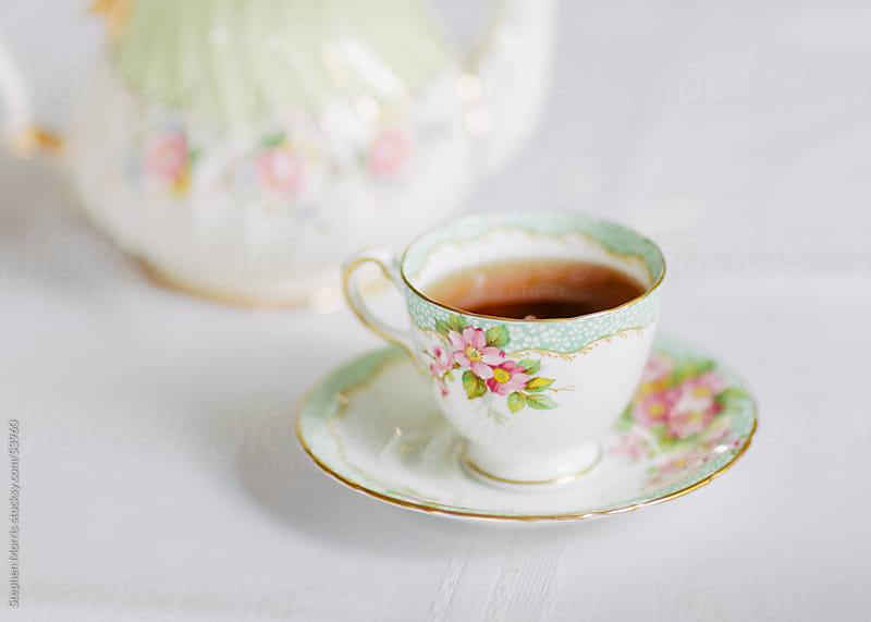 Bone China Tea Set by Stephen Morris for Stocksy United