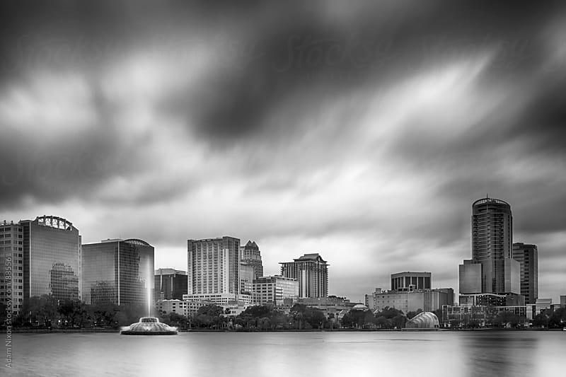 Lake Eola and Orlando Florida Skyline by Adam Nixon for Stocksy United