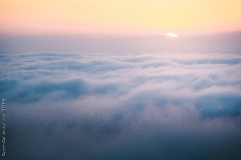 Above the Clouds by Casey McCallister for Stocksy United