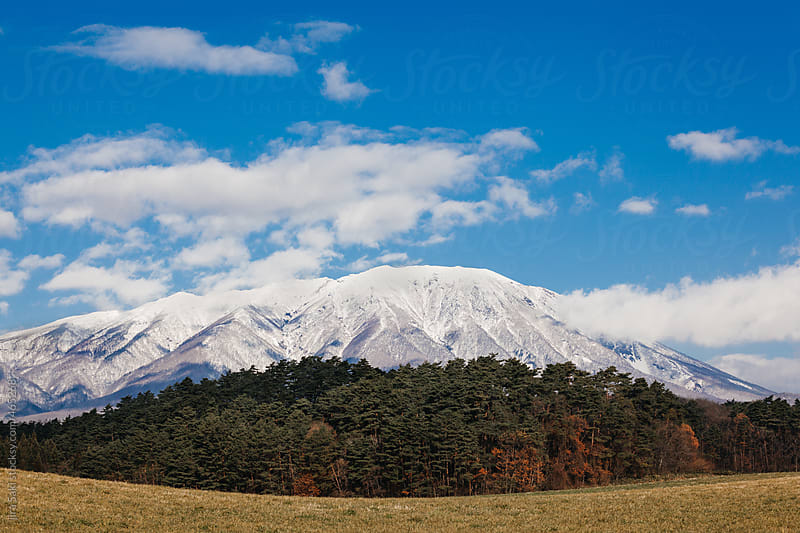 iwate mountain by jira Saki for Stocksy United