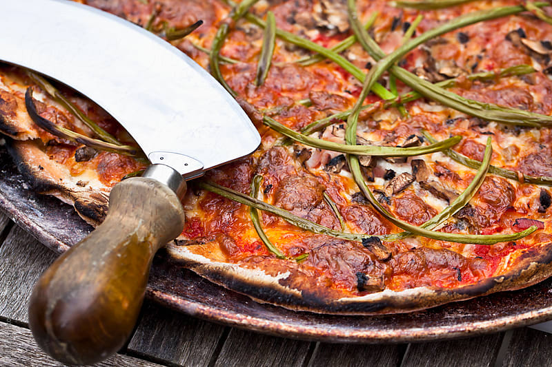 Wood-Oven Pizza by Jill Chen for Stocksy United