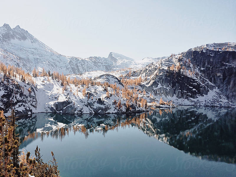 Alpine Wonderland. by Eric Bowley for Stocksy United