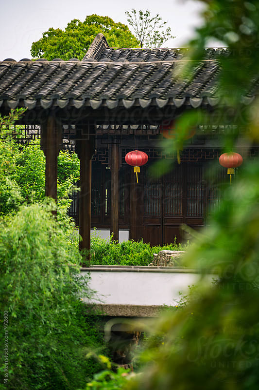 Ancient Chinese Architecture, Jiangsu Province,China by Miss Rein for Stocksy United