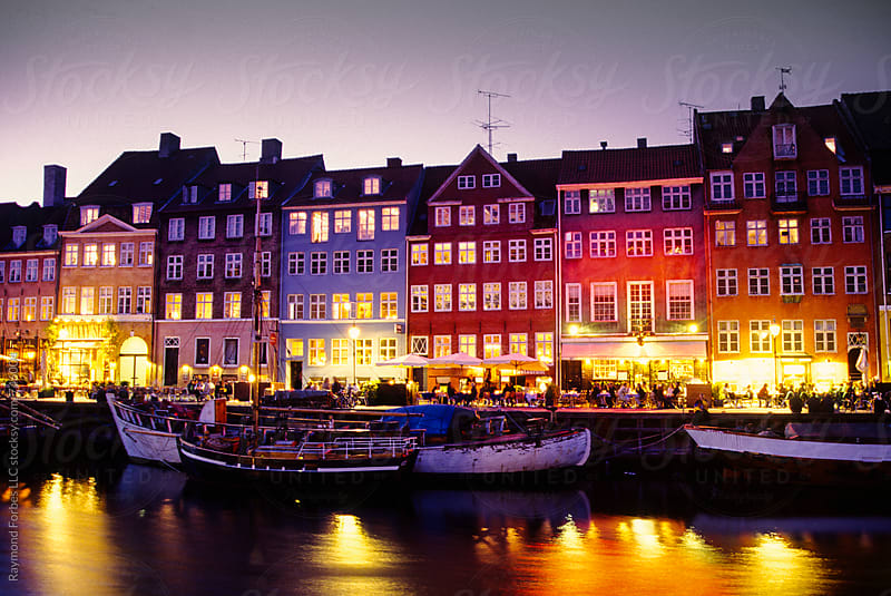Nyhavn District of Copenhagen, Denmark by Raymond Forbes LLC for Stocksy United