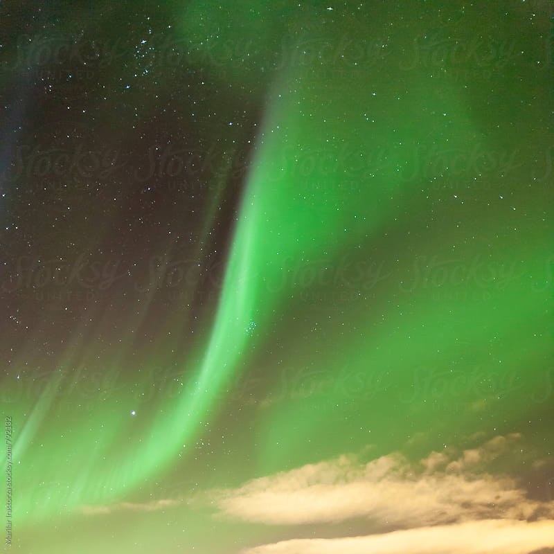 Northern Lights in Iceland by Marilar Irastorza for Stocksy United