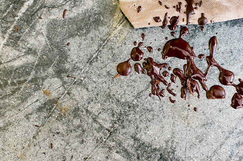 Chocolate Drippings by Bruce and Rebecca Meissner for Stocksy United
