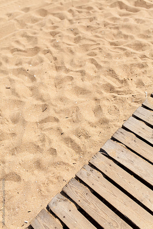 wooden deck at the beach by MEM Studio for Stocksy United