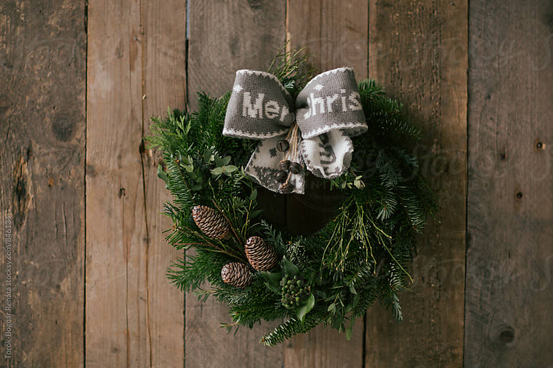 Christmas wreath by Török-Bognár Renáta for Stocksy United