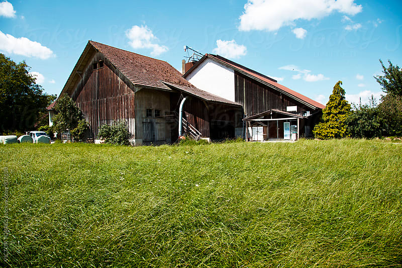 Old Swiss Farm by Victor Torres for Stocksy United