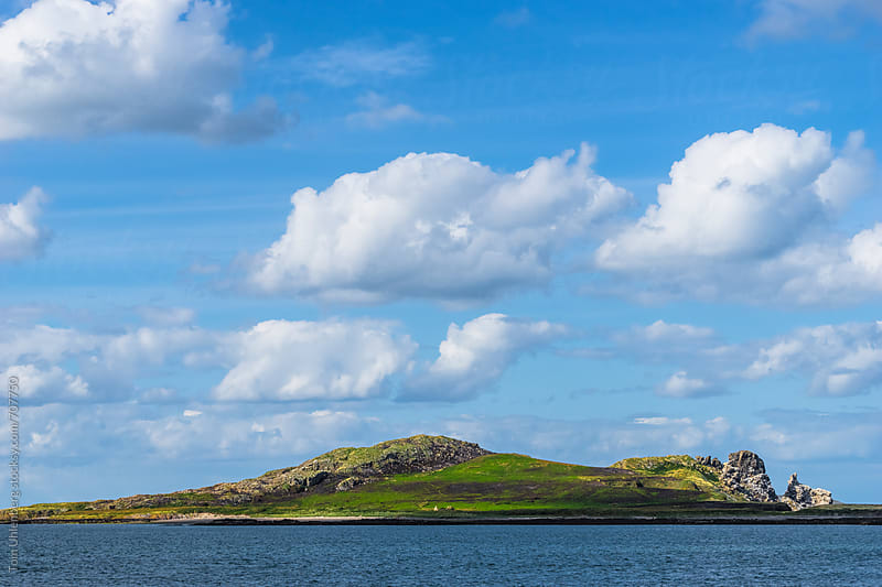 Ireland's Eye (Inis Mac Neasáin) - A small island off the coast of County Dublin, near Howth, Ireland by Tom Uhlenberg for Stocksy United
