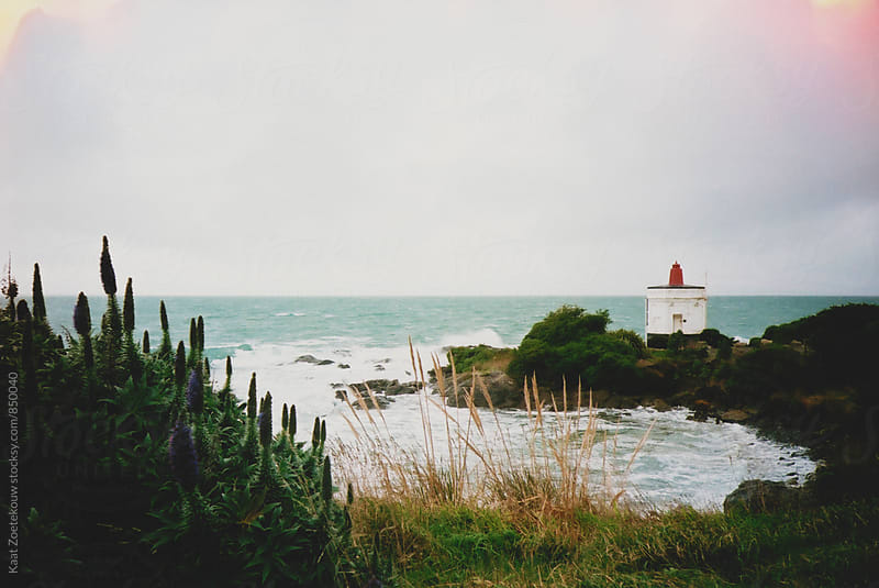 New Zealand lighthouse  by Kaat Zoetekouw for Stocksy United