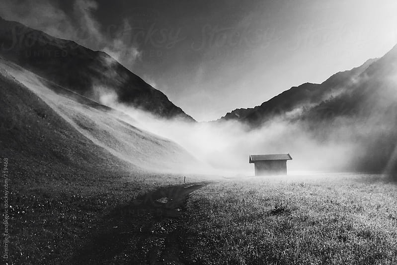 Mmorning in the Alps. by Dimitrije Tanaskovic for Stocksy United