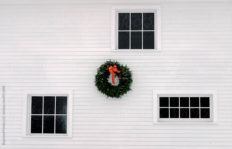 Barn at Christmas by Raymond Forbes LLC for Stocksy United