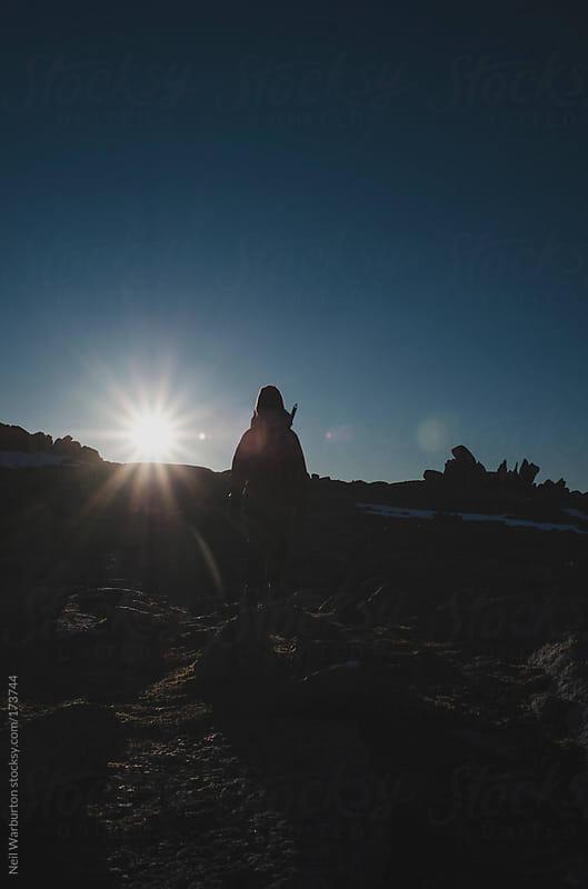 Summit Silhouette by Neil Warburton for Stocksy United