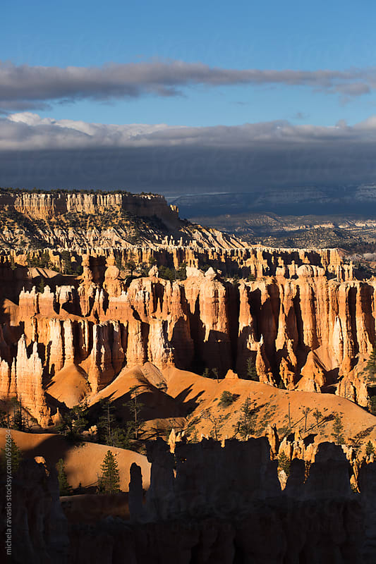Carved spires in Bryce Canyon National Park by michela ravasio for Stocksy United