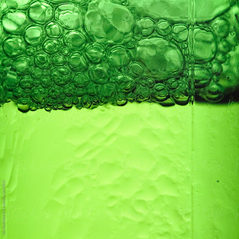 Green Beer Bottleneck by Urs Siedentop & Co for Stocksy United