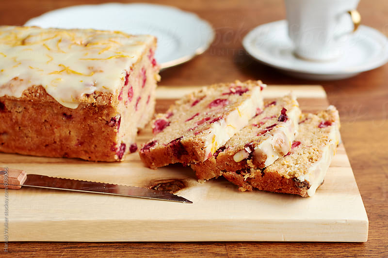 Cranberry bread by Harald Walker for Stocksy United