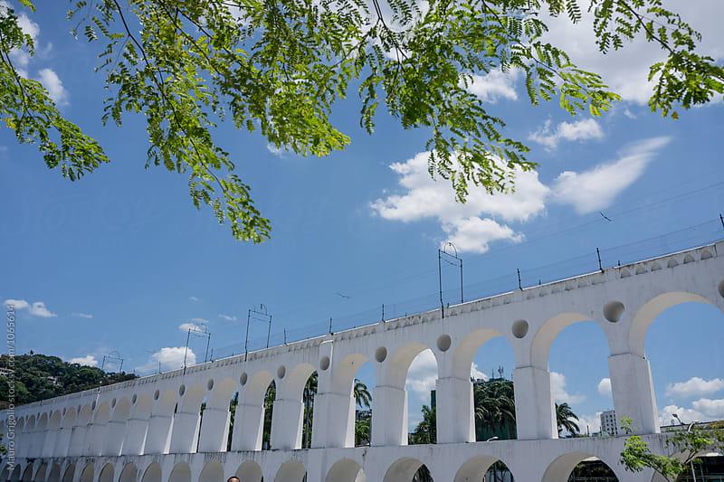 Famous Arcs of Lapa. Rio de Janeiro. Brazil. by Mauro Grigollo for Stocksy United
