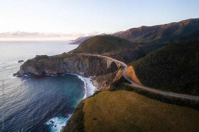 Bixby Bridge by Casey McCallister for Stocksy United