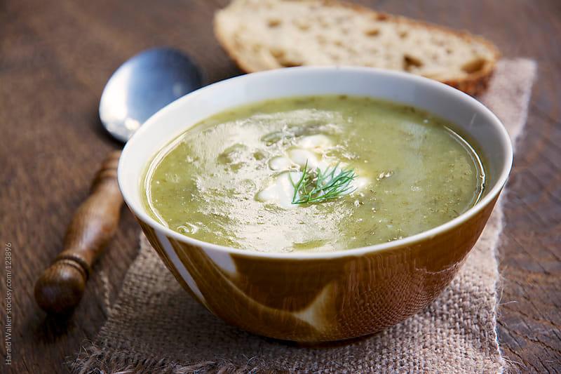 Green borscht by Harald Walker for Stocksy United