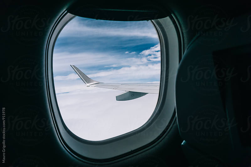 View from the Plane by Mauro Grigollo for Stocksy United