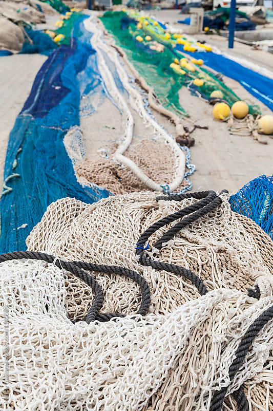 Fishing nets  by Marilar Irastorza for Stocksy United