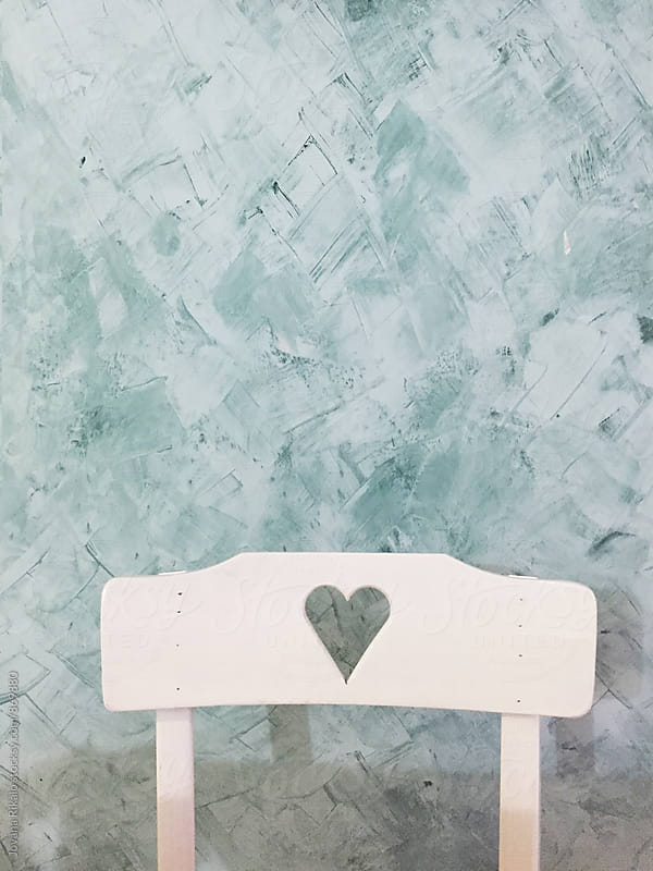 Heart chair by Jovana Rikalo for Stocksy United