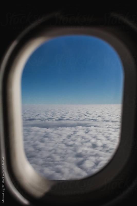 View from the airplane by Mauro Grigollo for Stocksy United