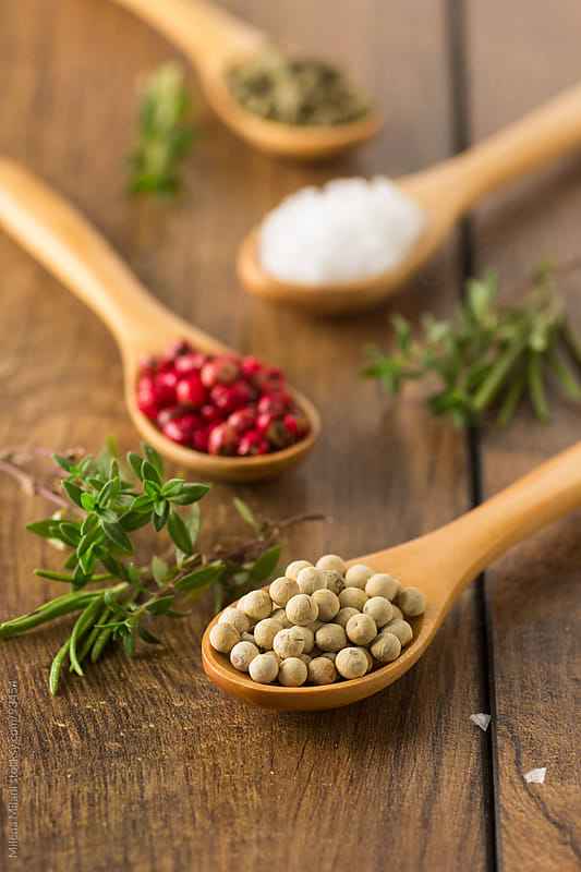 Herbs and spices by Milena Milani for Stocksy United