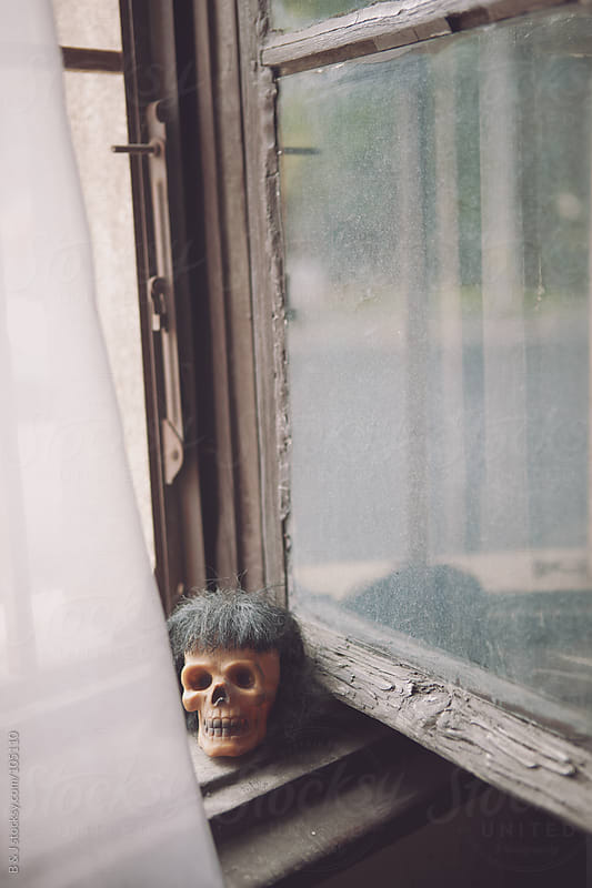 skull at my window by B & J for Stocksy United