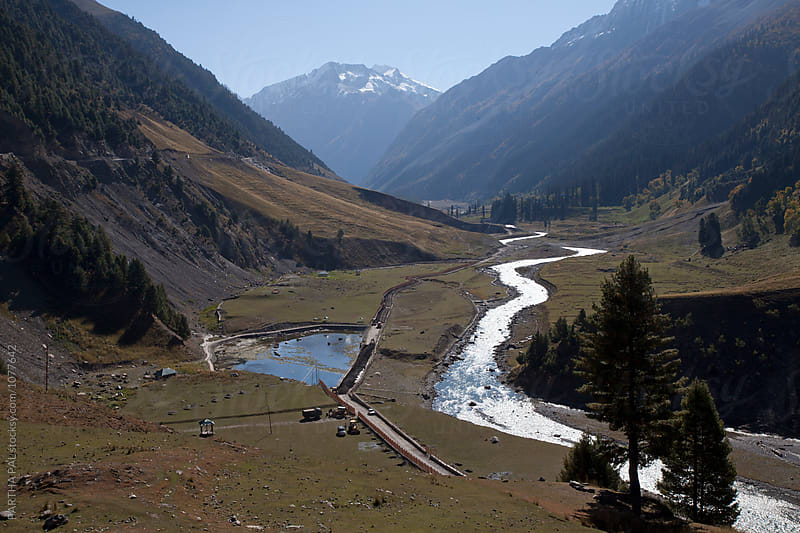 Sind River in Sonamarg Valley of Kashmir,India by PARTHA PAL for Stocksy United