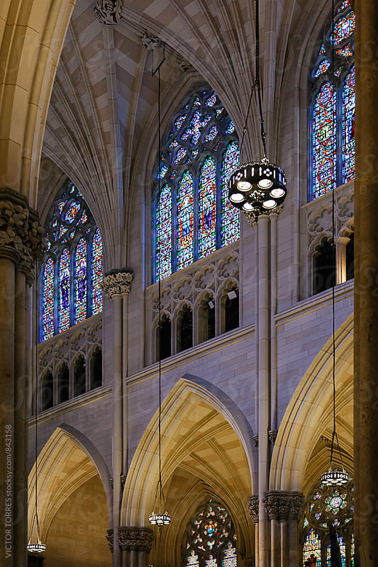 St. Patrick's Cathedral - New York by VICTOR TORRES for Stocksy United