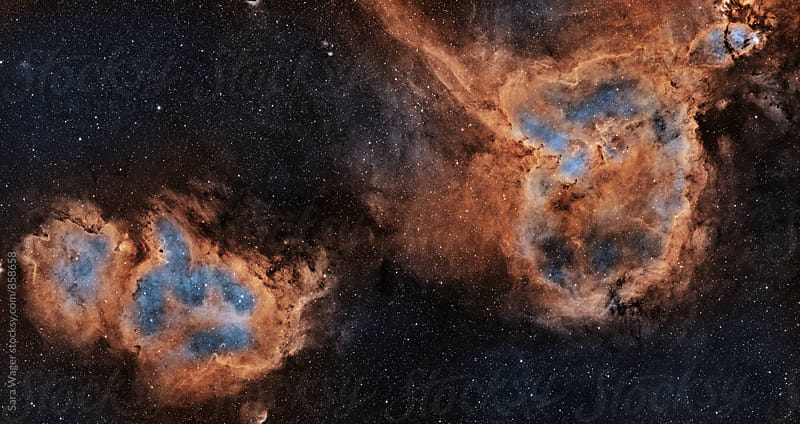 The Heart and Soul nebula by Sara Wager for Stocksy United