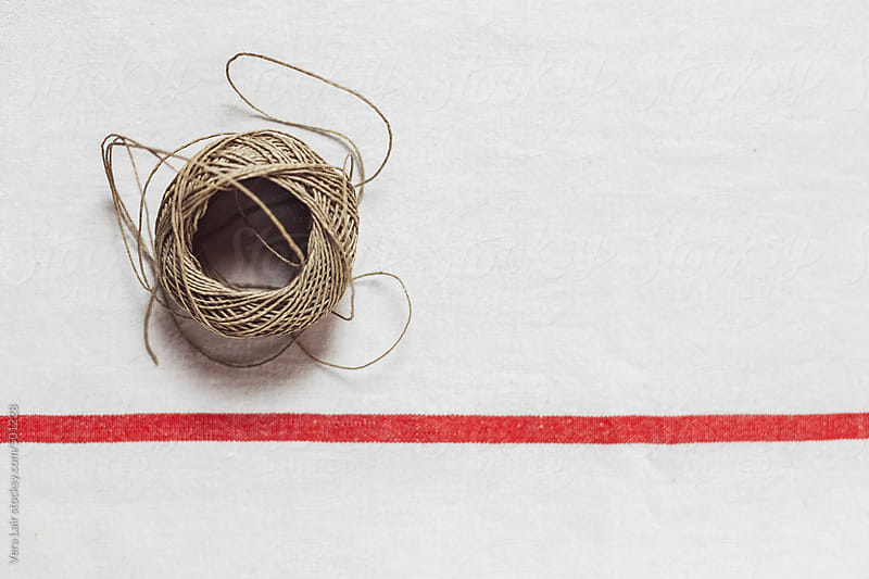 Small ball of twine by Vera Lair for Stocksy United
