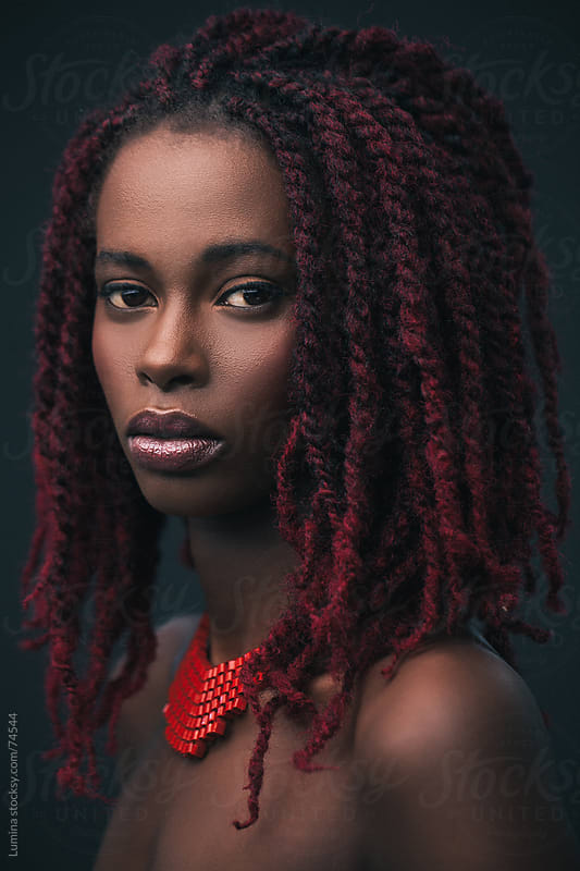 Fashion Portrait of an African Model by Lumina for Stocksy United